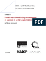 Concise Chronic Spinal Cord Injury 2008