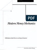 48608300 Modern Money Mechanics Meccaniche Monetarie Moderne