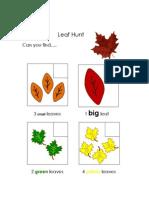 leaf hunt.docx