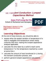 (5) Transient Conduction - Lumped Cap Mtd - S1 2013-2014 (1)