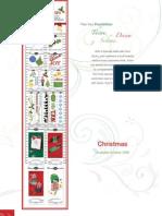 Christmas ~ Shipping October 09