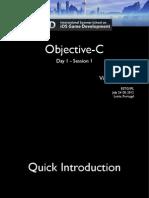 Objective-C slides