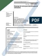 NBR 06493 - 1994 - EMPREGO DE CORES PARA IDENTIFICAÇÃO DE TUBULAÇÕES