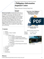 Training University of the Philippines Information Technology Development Center PDF
