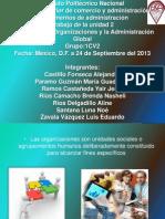 Unidad 2 Organizaciones y La Administracion Global. Admin
