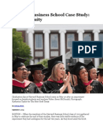 Harvard Business School Case Study on Gender Equity