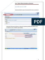 Manual Para Crear Una Tabla Externa en SAP D.M.G.E