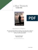 As a Man Thinketh -James Allen