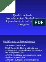 Qualificacao de Procedimentos e Soldadores e Operadores