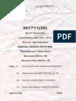 Digital design with HDL