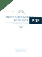 Ensayo Sobre Mecanica de Fluidos(Tarea1)