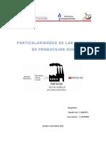 Particularidades de Las Empresas