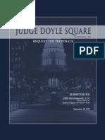 JDS Development - Judge Doyle Square RFP 093013