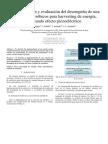 implementación y evaluación del desempeño de una estación de aeróbicos para harvesting de energía, utilizando efecto piezoeléctrico