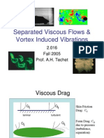 Vortex induced vibration