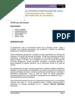 Informe Final de Geoquimica II Bimestre