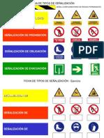 Ficha de Tipos de Senalizacion