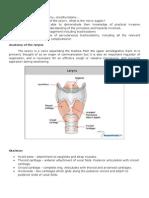 Anatomy of Tracheostomy