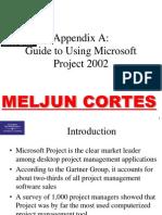 MELJUN CORTES Project Mgmt Appendix A