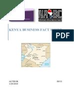 Kenya Business Fact Sheet