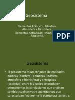 14.- Geosistema