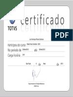Certificado Luiz