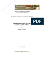 Agriculture Law