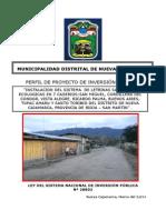 Perfil de Proyecto Letrinas