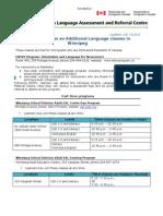 Eal Program Listing