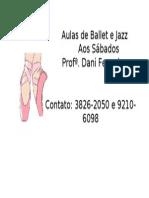 Aulas de Ballet e Jazz2