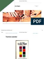 Test de Lüscher _ Hablémos de Psicología