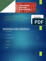 Investigacion Cientifica