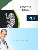 ABORTUS KRIMINALIS