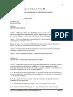 Lei Orgânica do Município de São José dos Pinhais