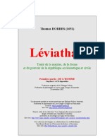 Leviathan Hobbes Complete version in French (Français)
