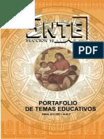 Portafolio de Temas Educativos No. 5