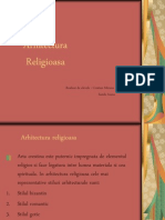 Arhitectura religioasa