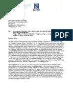 Comment Letter DoD MOU 9/30/2013