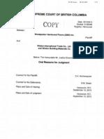 Woodpecker v. Wiston injunction