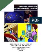 Bahan Ajar Statistika Ekonomi Lanjutan