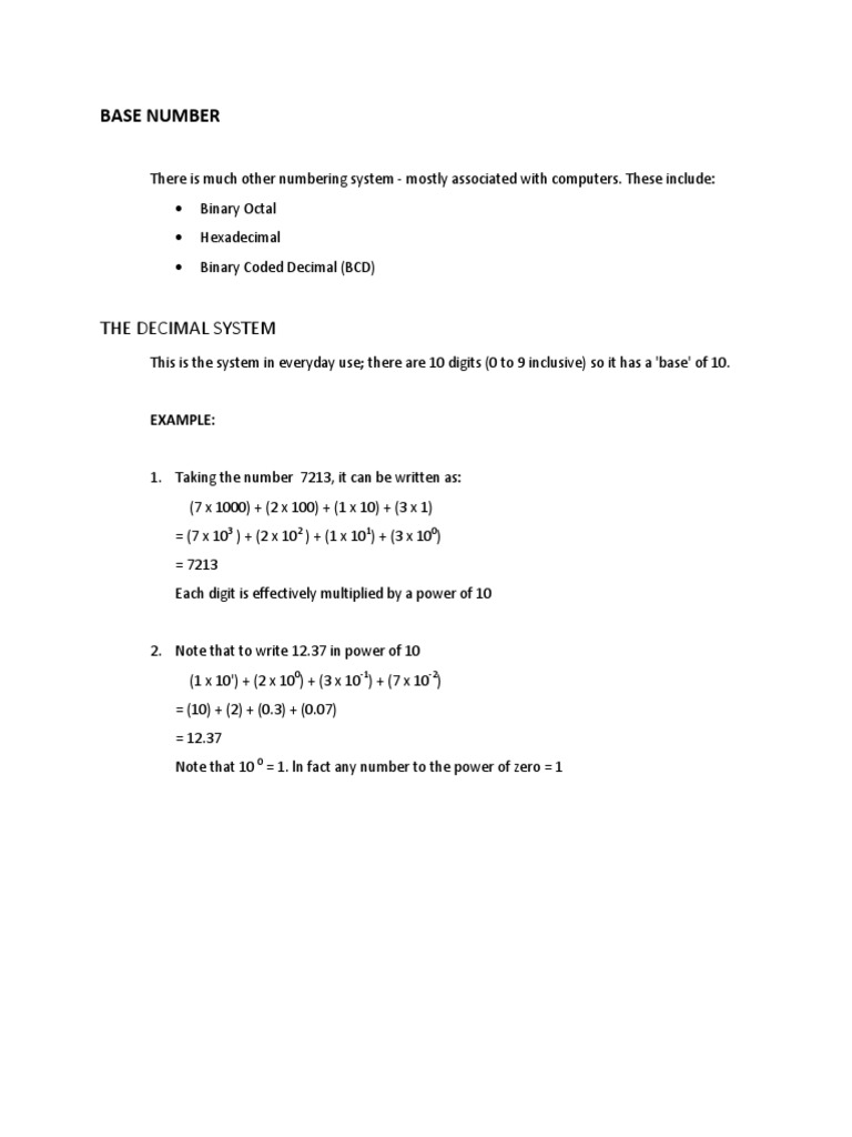 Chapter 3 Base Number Division Mathematics Subtraction Bcd To Binary Coded Decimal Converter Data