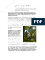 Sustainability Essay ~ Fred First / July 2009