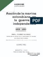 Accion de La Marina Colombiana en La Guerra de La Independencia