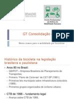 GT Consolidação das Leis