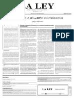 El Estado y La Legalidad ConveNcional