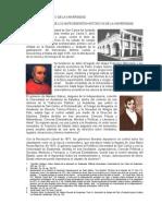 EL MARCO HISTÓRICO DE LA UNIVERSIDAD SAN CARLOS DE GUATEMALA