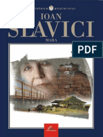 Slavici Ioan - Mara (Tabel Cron)