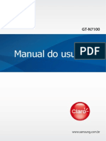 Samsung Galaxy Note II - Manual do Usuário