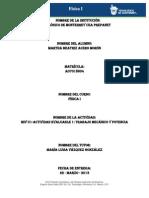 MIV - U1 - Actividad 1. Trabajo mecánico y potencia Alumno 2