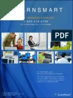 LearnSmart Course Catalog 2014